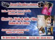 Video, edicion, fotografia y animaciÓn de eventos