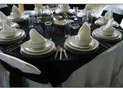 Negocio de eventos y banquetes, comidas para almuerzos para pequeÑas y medianas
