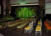 Alquiler de sillas tifany mesas carpas salas  lounge pistas tarimas y carpas toda medida