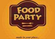 Food party, catering quito - ecuador