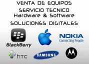 Servicio tecnico blackberry & mas