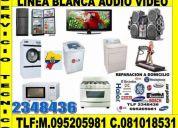 Servicio tecnico de refrigeradoras , congeladores ,lavadoras digitales , microondas ,aires