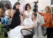 Maquillaje y peinados para novias