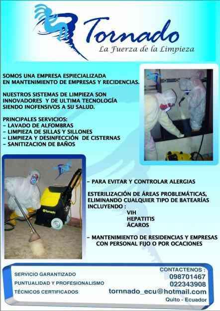 Limpieza lavado de alfombras sillones cisternas ventanas for Empresas de limpieza para casas particulares