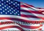 Ofrecemos servicios de traducción de documentos de marketing y otros