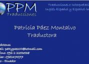 Ppm traducciones - traducciones espaÑol inglÉs e inglÉs espaÑol