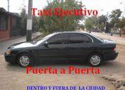 Taxi ejecutivo para viajes dentro y fuera de la ciudad