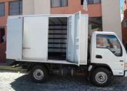 Transporte carga, mudanzas manta - portoviejo - quito