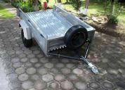 Rento remolques para viajes ( turismo jeep 4x4 motos cuadrones carga vitara forsa gol aveo