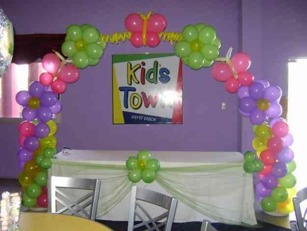 decoracion con globos para baby shower arreglos 20para 20baby 20shower