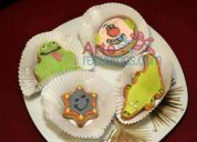 Galletas decoradas y muffins