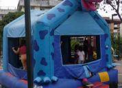 Alquiler de salta salta inflables americano original eventos infantiles