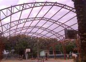 Estructuras metalicas   galpones   losas prefabricadas