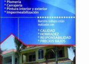 Construcción y mantenimiento  de casas