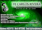 Profesional dj carlos rivera