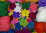 Necesito mano de obra. mujeres que sepan tejer con crochét