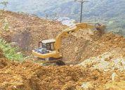 Se alquila excavadora