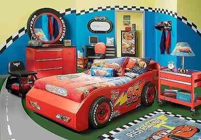 Camas carro para ni os varios modelos quito art culos - Dormitorios de cars ...