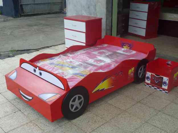 Cama carros para ni o a guayaquil hogar jardin - Cama en forma de auto ...