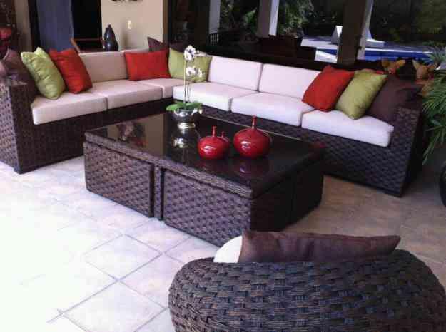 Muebles de rattan y fibras guayaquil hogar jardin for Muebles rattan