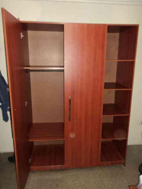 closet en madera desarmable alto 2 mts ancho mts