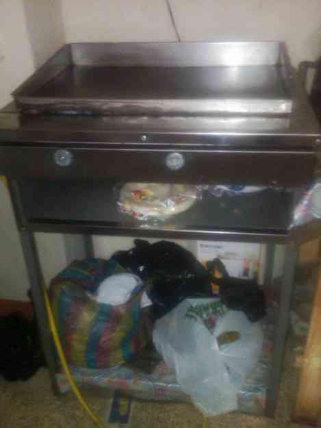 Congelador horizontal plancha freidora para tacos y - Plancha para hamburguesas ...