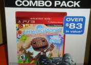 Little big planet game of the year edition mas dual shock pack new
