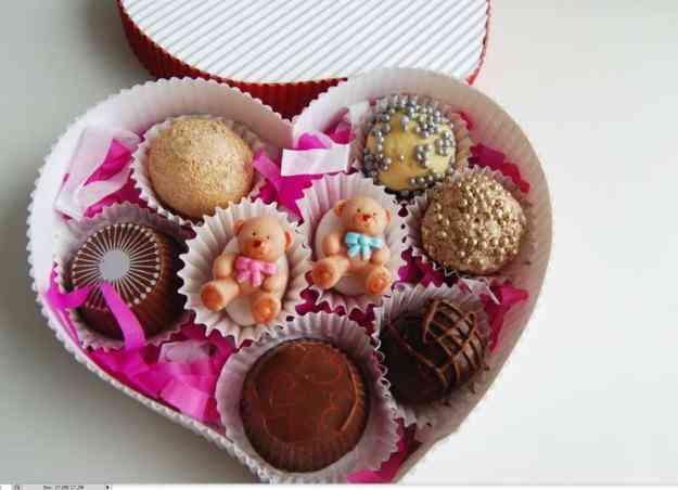 The gallery for bombones decorados para san valentin - Dulces de san valentin ...
