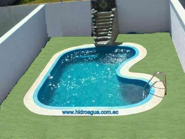 Construccion de piscinas en hormigon armado y fibra de for Construccion de piscinas en ecuador