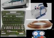 Mantenimiento preventivo y correctivo, instalaciÓn de acondicionadores de aire,