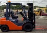 Alquiler de montacargas y transporte de carga