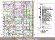 Trabajos de ingenieria electrica para proyectos de construccion en autocad