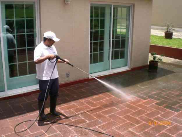 En pisos lavamos adoquines piedra natural terrazo for Adoquines de piedra precios