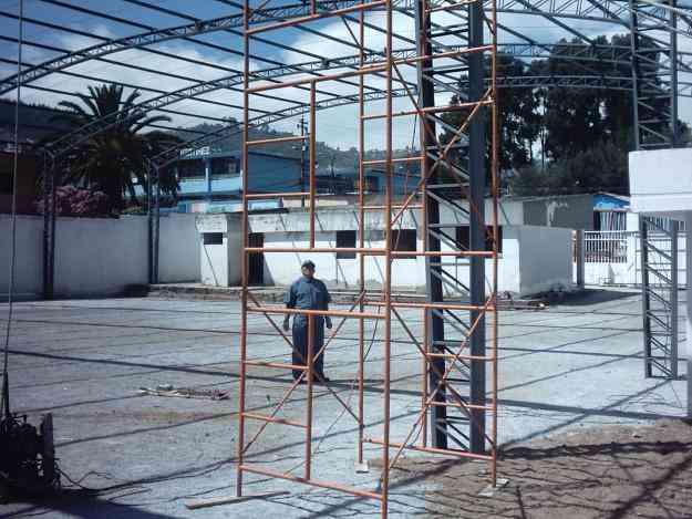 Estructuras metalicas acero aluminio cubiertas techos - Estructuras de acero para casas ...