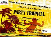 Gran party tropical
