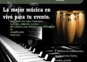 Noise band musica en vivo salsa merengue son baladas