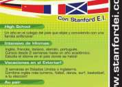 Cursos de ingles en el exterior!!! stanford english institute!!!