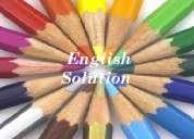 Profesoras de ingles: nivelaciones, traducciones, deberes