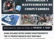 Ensamblaje y mantenimiento de computadores en ambato