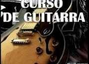 Curso de guitarra a 60.00el mes y tambien por horas