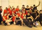 Instructor de danza-bailarin y estudiante