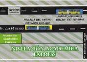 Nivelaciones express ---- deberes dirigidos 2270908
