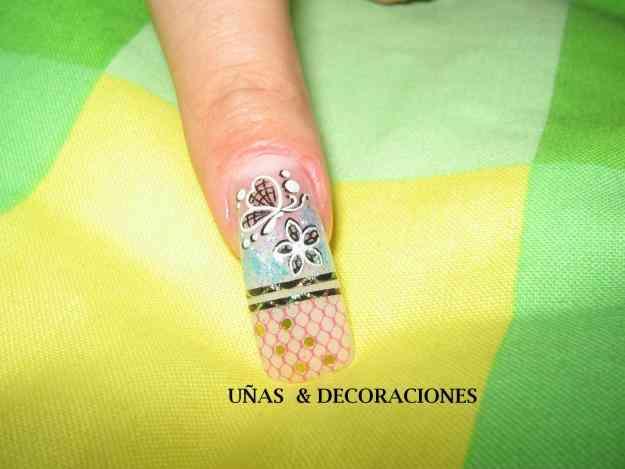Unas acrilicas decoradas mxico anuncios and post portal - Decoraciones de unas ...