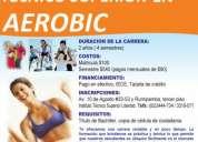 Aerobic titulo academico superior reconocido por la senecyt