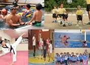 Vacacionales - deportes - escuela y cursos de nataciÓn permanentes