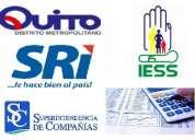 servicios contables tributarios, asesoria etc