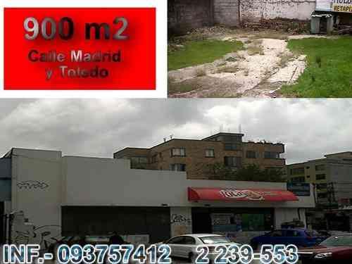TERRENO DE VENTA SECTOR RESIDENCIAL EN QUITO CITAS AL 3319032 / 0
