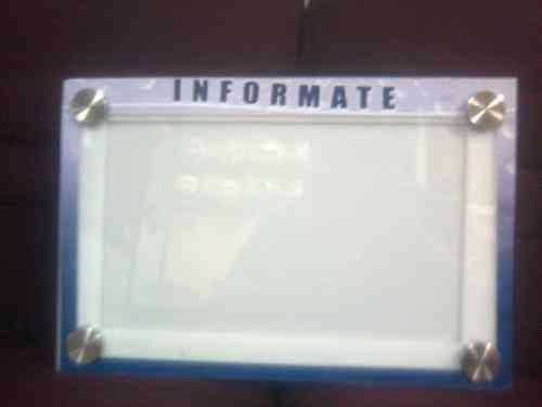 Carteleras informativas pichincha otros servicios for Modelos de carteleras informativas