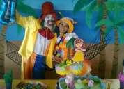 Animaciones de fiestas infantil caritas felices con mini hora loc