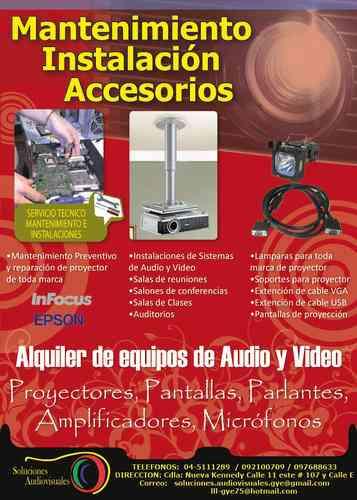 SERVICIO TÉCNICO PARA (( EQUIPOS DE AUDIO Y VIDEO )) EN GUAYAQUIL